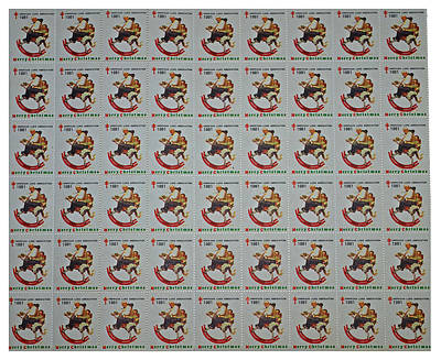 Christmas Seals 1981 Print by Rich Walter