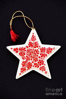 Christmas Star Print by Anne Gilbert