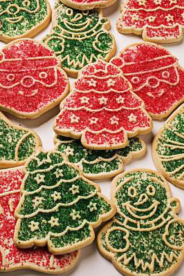 Christmas Sugar Cookies Print by Garry Gay