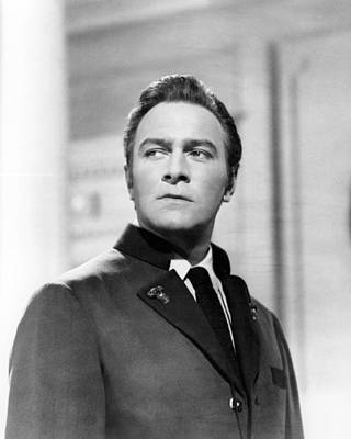 Musical Film Photograph - Christopher Plummer In The Sound Of Music  by Silver Screen