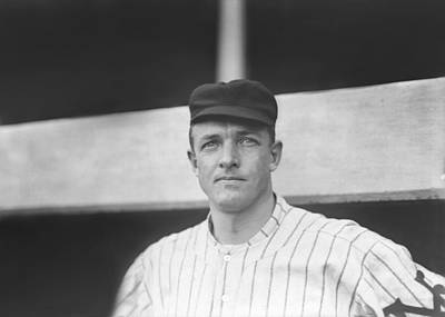 Christy Mathewson Close Up Print by Retro Images Archive