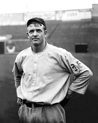 Christy Mathewson Ready To Throw Print by Retro Images Archive