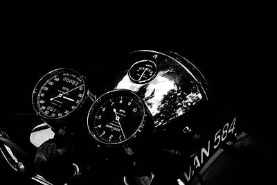 Indian Photograph - Chronometric by Mark Rogan