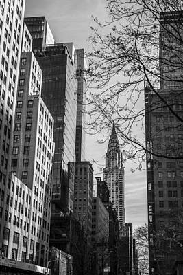 Chrysler Building Print by David Morefield