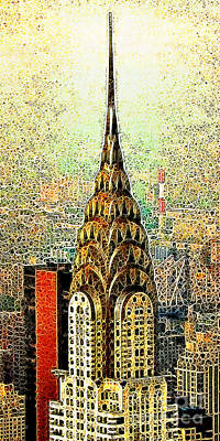 Chrysler Building New York City 20130503 Print by Wingsdomain Art and Photography