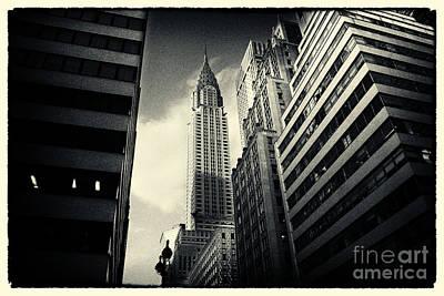 Landmarks Photograph - Chrysler Building New York City by Sabine Jacobs