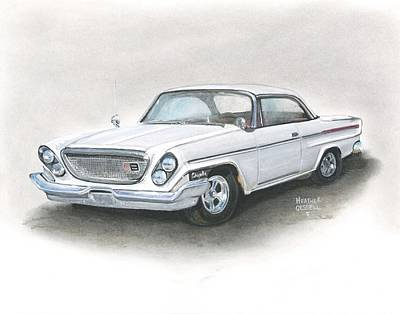 Pastel - Chrysler by Heather Gessell