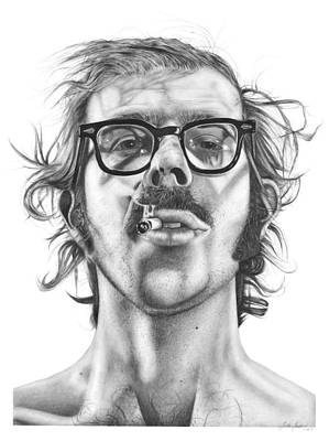 Chuck Close Print by Kalie Hoodhood