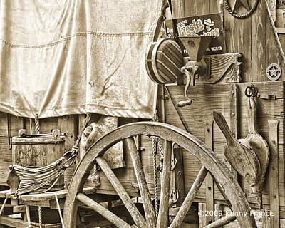 Chuck Wagon Print by Kenny Francis