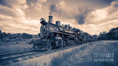 Essex Photograph - Full Steam Through The Meadow by Edward Fielding