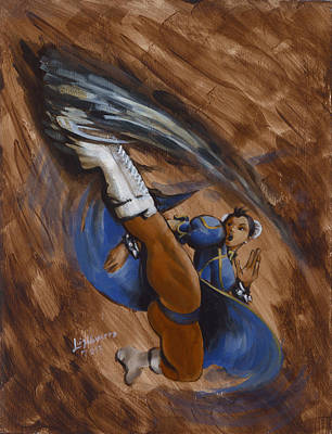 Chun Li Original by Luis  Navarro