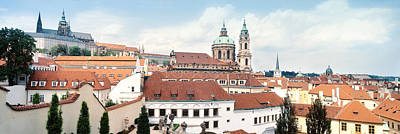 Rooftop Photograph - Church In A City, St. Nicholas Church by Panoramic Images