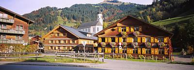 Vorarlberg Photograph - Church In A Village, Bregenzerwald by Panoramic Images