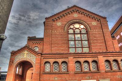 Religious Artist Photograph - Church In Hdr by Tim Buisman