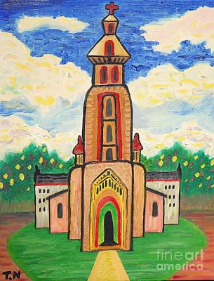 Fundamentalism Painting - Church In Paradoola By Taikan by Taikan Nishimoto
