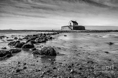 Pebbles Digital Art - Church In The Sea by Adrian Evans