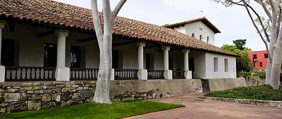 Rooftop Photograph - Church, Mission San Luis Obispo, San by Panoramic Images