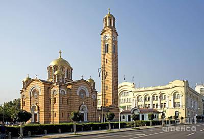 Church Of Jesus The Saviour Print by Ladi  Kirn
