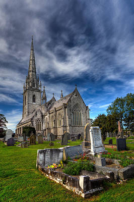 Church Of Marble Print by Adrian Evans