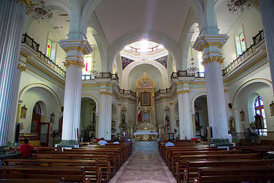 Iglesia Photograph - Church Of Our Lady Of Guadalupe (la by Douglas Peebles