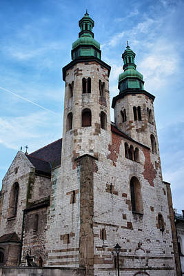 Medieval Temple Photograph - Church Of St. Andrew In Krakow by Artur Bogacki