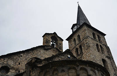 Church Photograph - Church Of The Assumption Of Mary In Bossost - Abse And Tower by RicardMN Photography