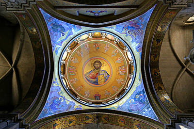 Byzantine Photograph - Church Of The Holy Sepulchre Catholicon by Stephen Stookey