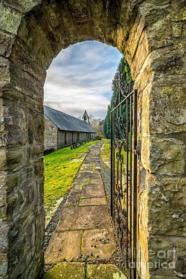 British Digital Art - Church Way by Adrian Evans