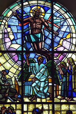 Church Window Original by Toppart Sweden