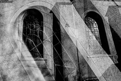 Church With Window Original by Toppart Sweden