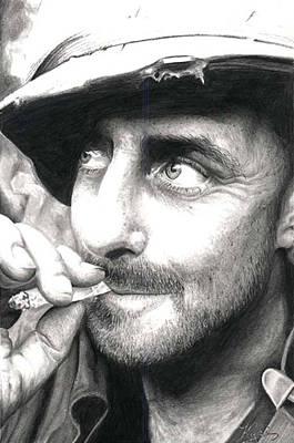 Cigarette Print by Annette Redman