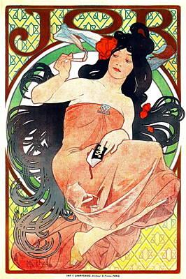 Cigarette Ads Photograph - Cigarette Paper Ad 1898 by Padre Art