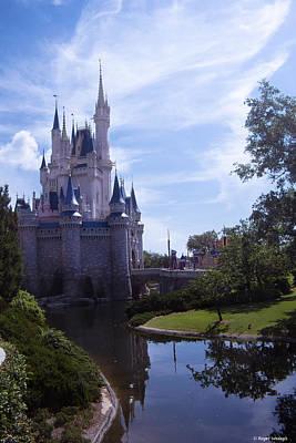Cinderella Castle Print by Roger Wedegis