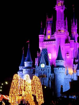 Disney Photograph - Cinderella Castle  by Zina Stromberg