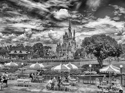 B Photograph - Cinderella's Palace by Howard Salmon