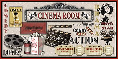 Cinema Room-jp2209 Original by Jean Plout