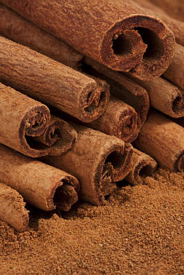 Cinnamon Sticks 2 Print by John Brueske