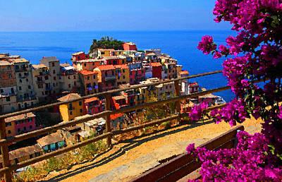 Cinque Terre Photograph - Cinque Terre 1 by Susan Rovira