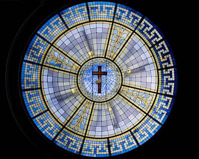 Circle Of Christ Print by Dee  Savage