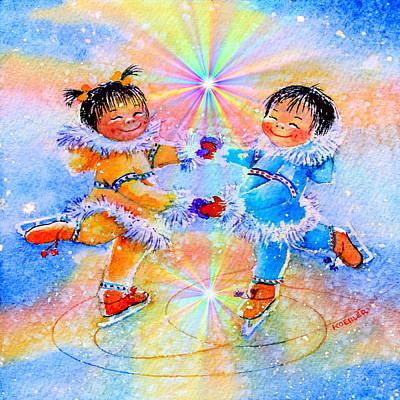 Circle Of Love Original by Hanne Lore Koehler