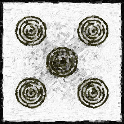 Circles In Various Patterns Original by Toppart Sweden