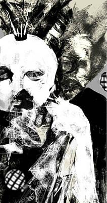 Digital Art - Circus Freaks by Ruth Clotworthy