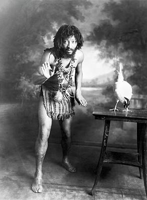 Circus Performer Chief Pantagal Print by American Philosophical Society