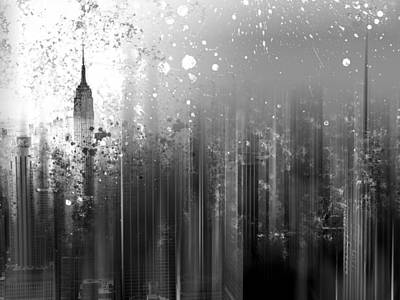 Abstract Sights Photograph - City-art Ny Manhattan by Melanie Viola