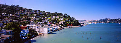Sausalito Photograph - City At The Coast, Sausalito, Marin by Panoramic Images