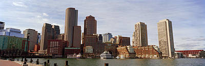 City At The Waterfront, Fan Pier Print by Panoramic Images