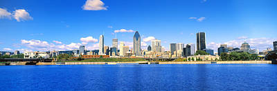 Montreal Cityscapes Photograph - City At The Waterfront, Lachine Canal by Panoramic Images
