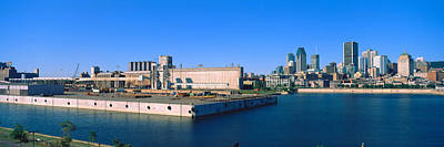 Montreal Cityscapes Photograph - City At The Waterfront, Montreal by Panoramic Images