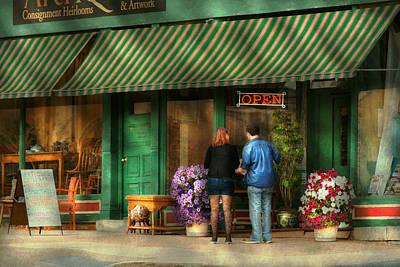 City - Canandaigua Ny - Buyers Delight Print by Mike Savad