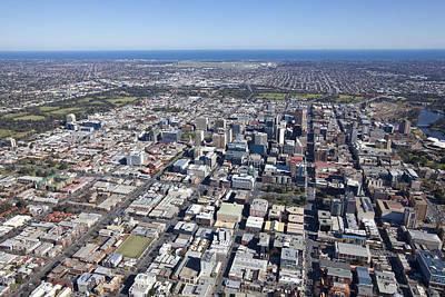 Photograph - City Center, Adelaide by Brett Price